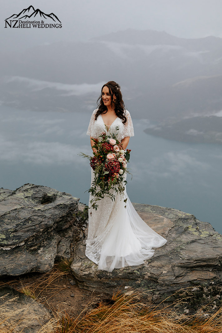 Mountain wedding at The Ledge in Queenstown