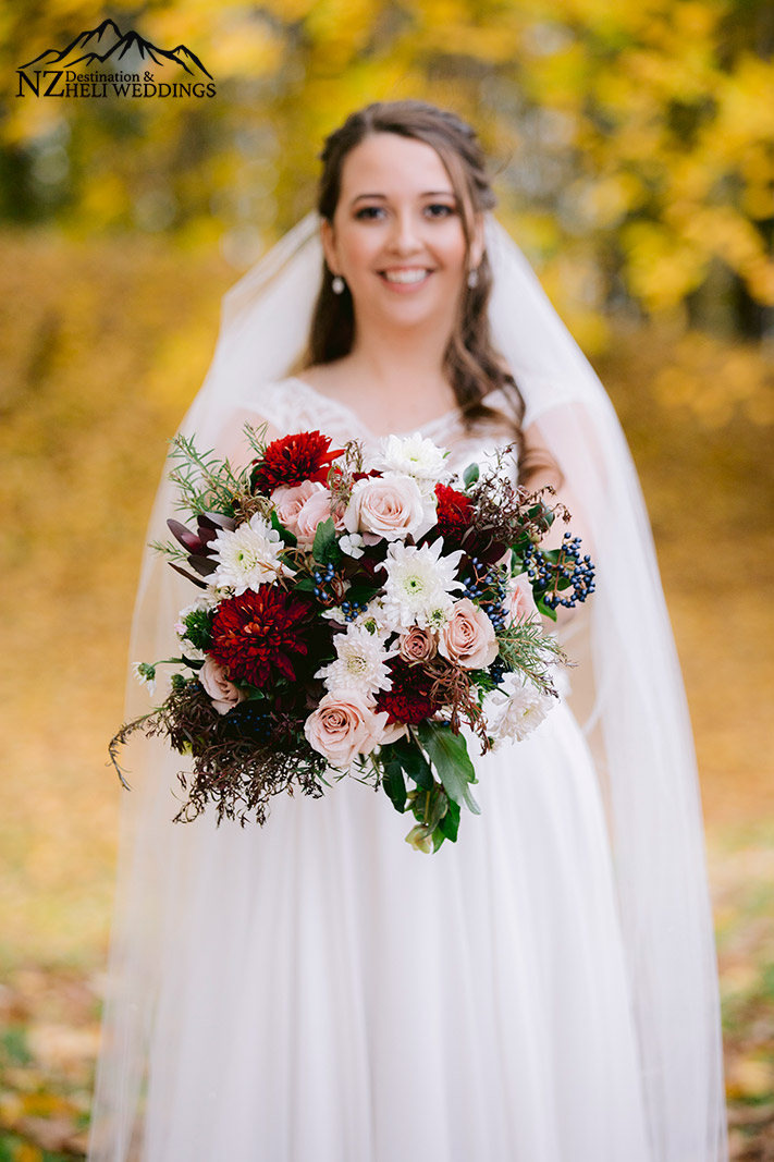 Wanaka autumn bride