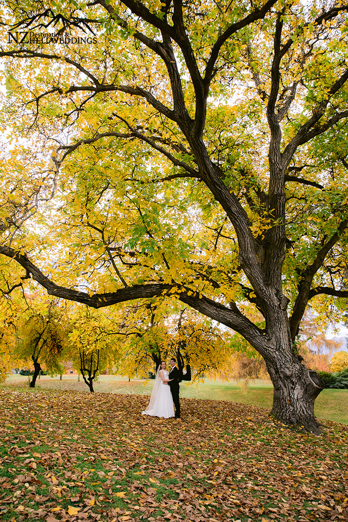 Wanaka Autumn Wedding