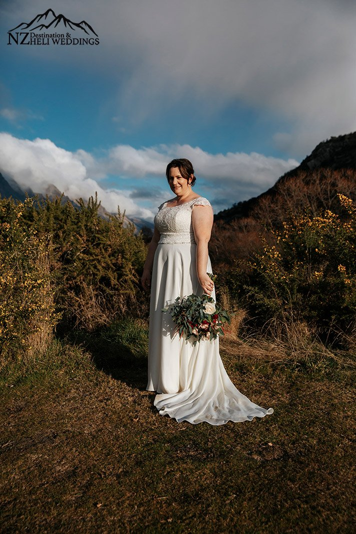 mountain wedding in Wedding Queenstown