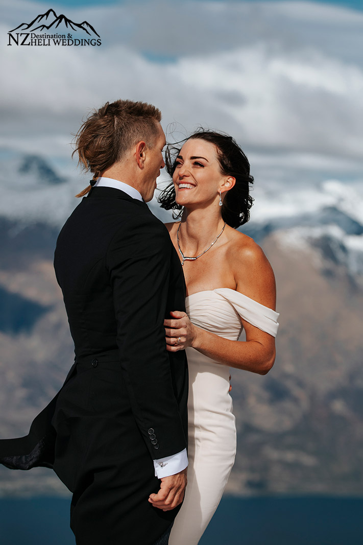 Queenstown Heli elopement Wedding packages