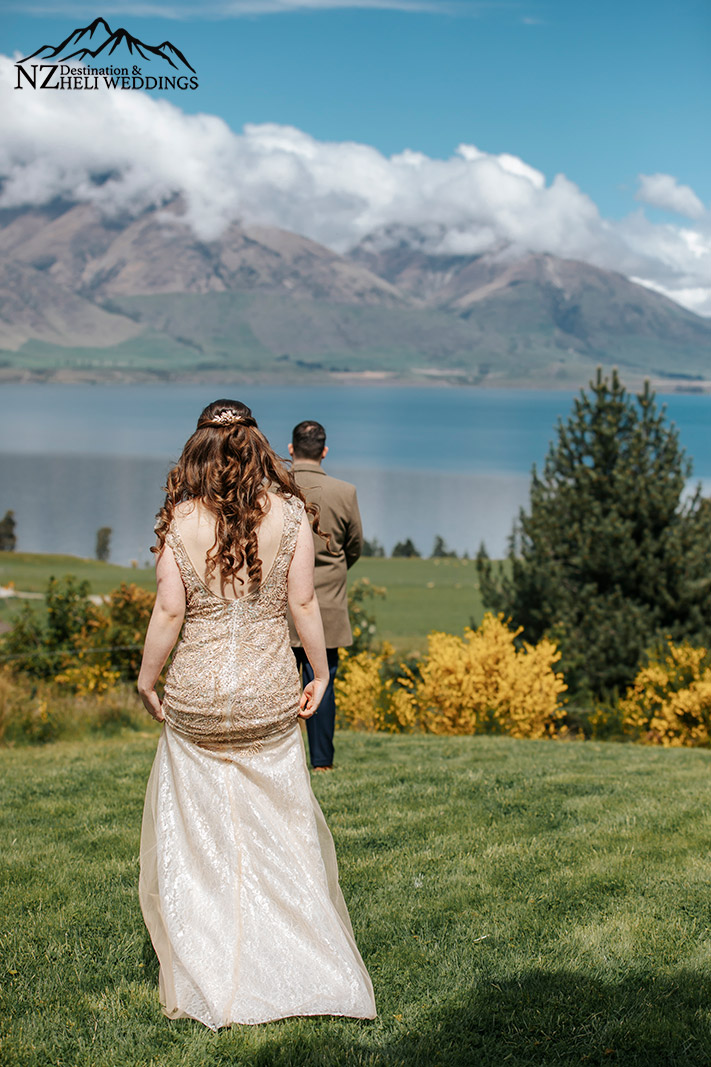 First look at Wedding in Queenstown