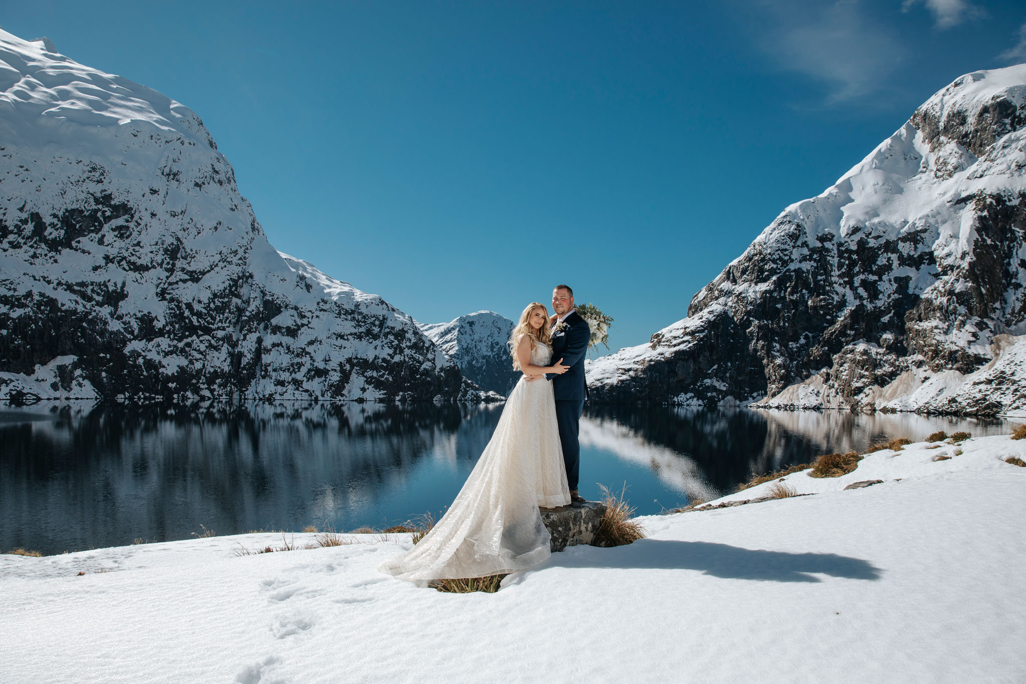 Wedding packages at Lake Quill Queenstown