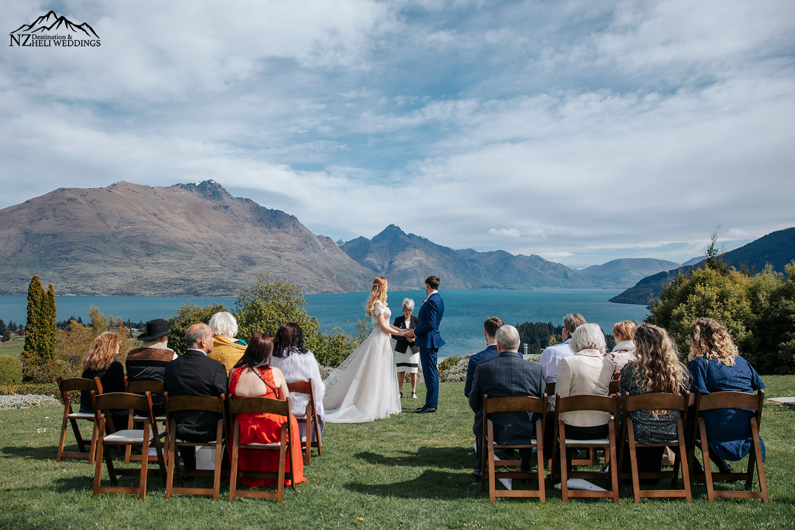 Small and intimate Queenstown wedding on Queenstown Hill