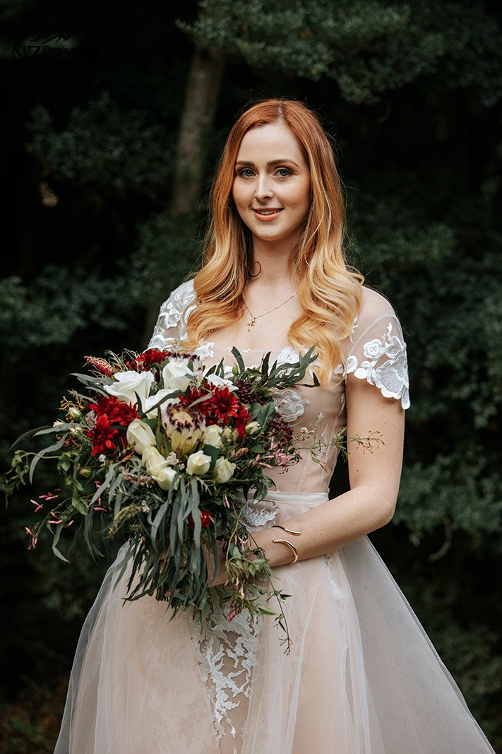 Small and intimate Queenstown wedding