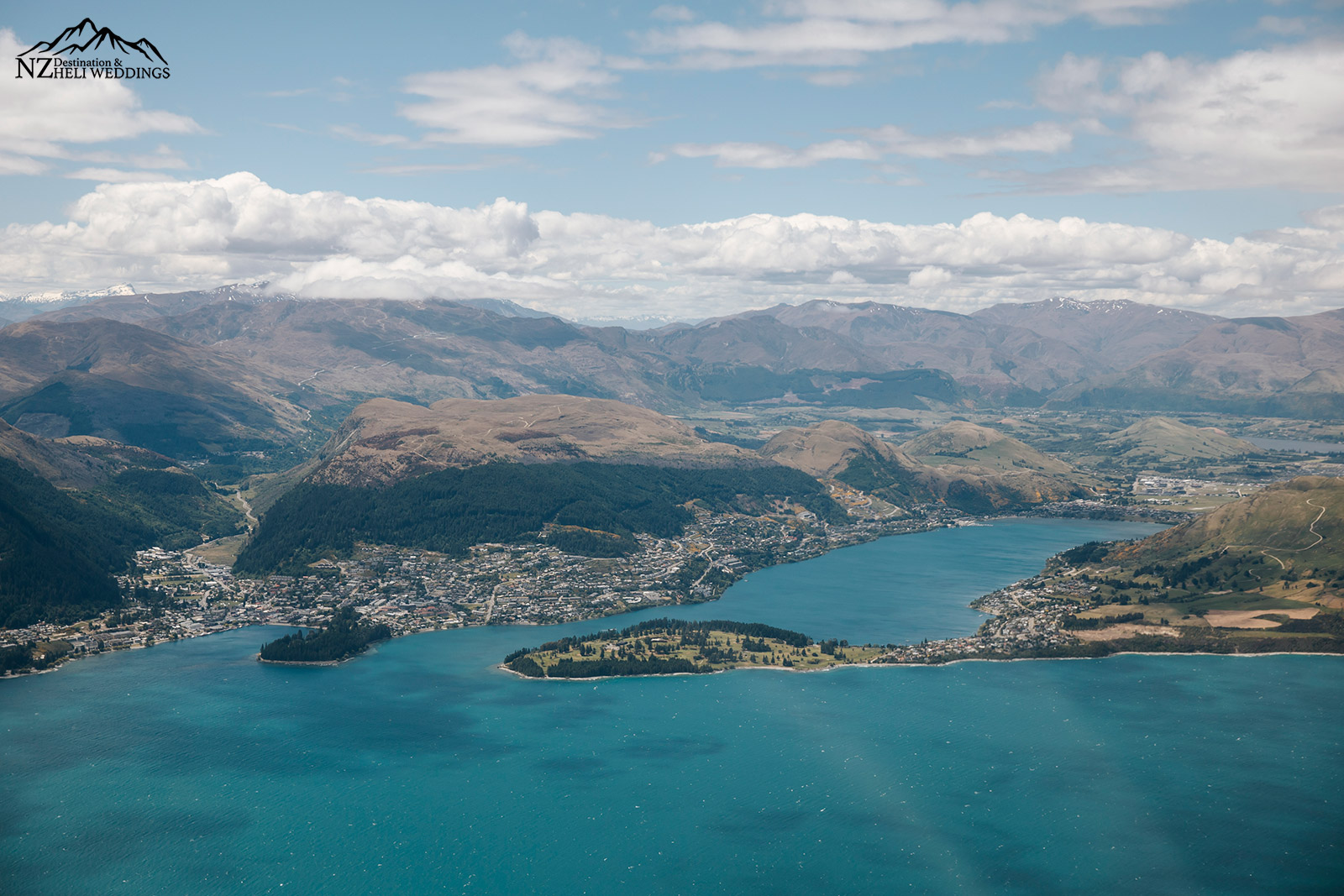 View of Queenstown NZ