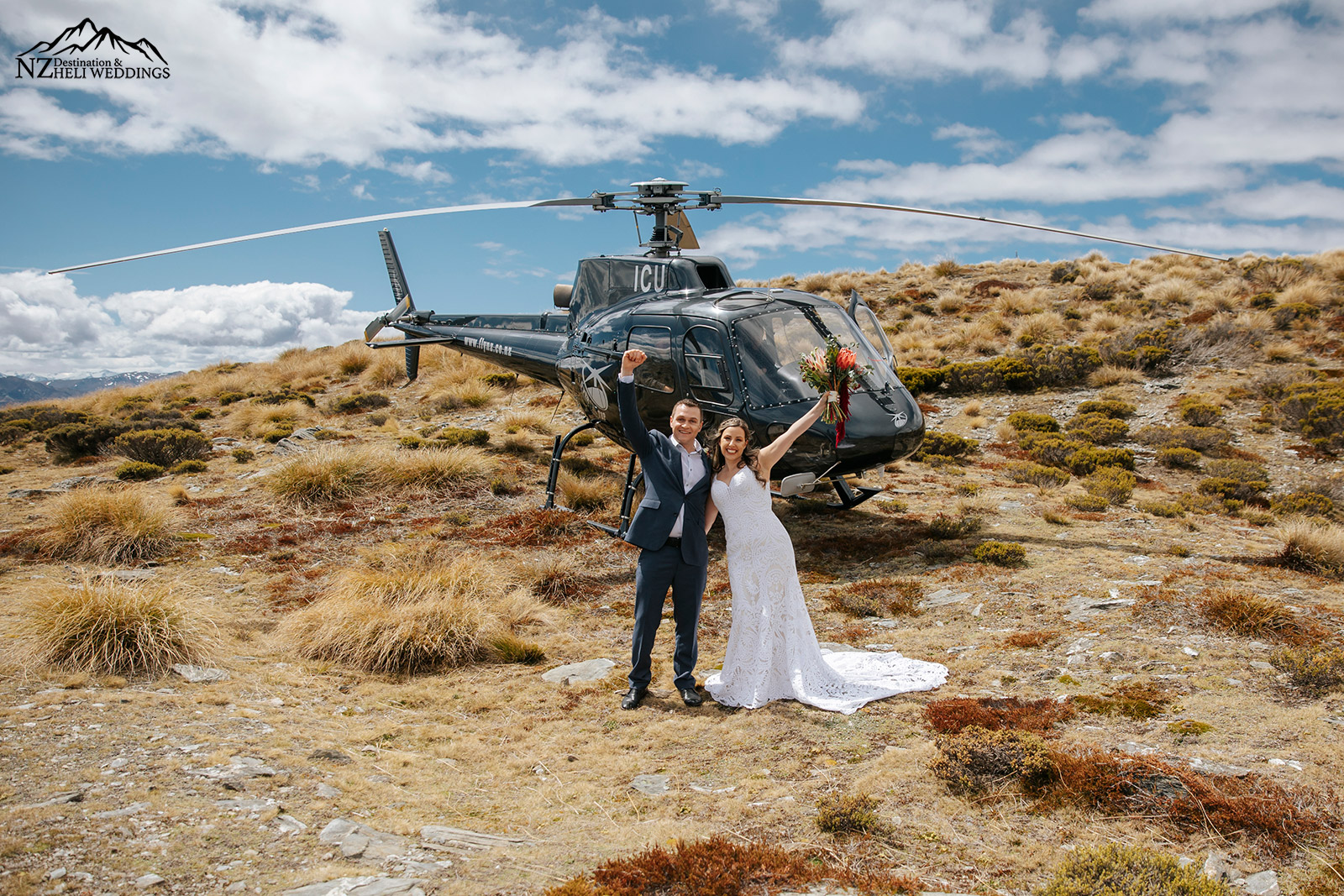 Queenstown Elopement wedding on the Remarkables