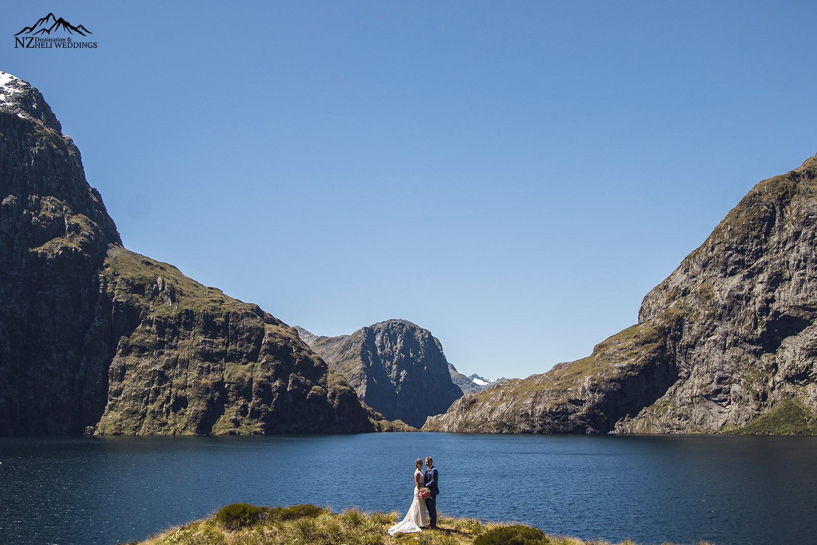 Lake Quill Wedding New Zealand