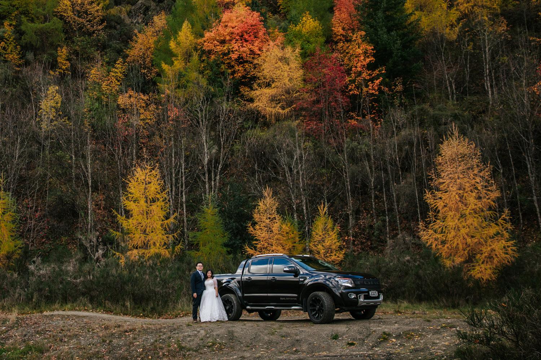 Autumn Wedding in Arrowtown