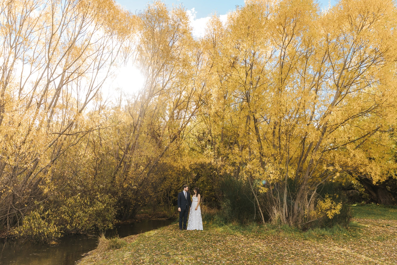Autumn Wedding in Arrowtown NZ