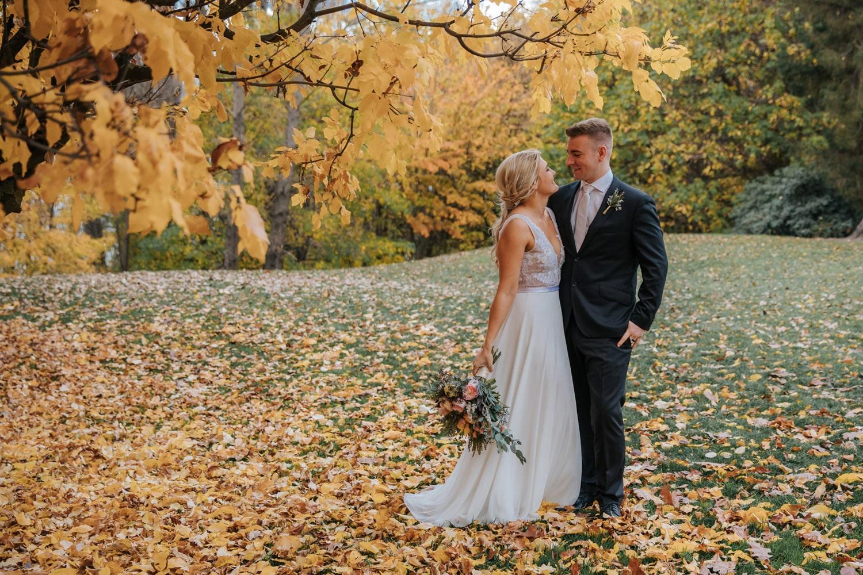 Autumn Wedding at Queenstown Gardens