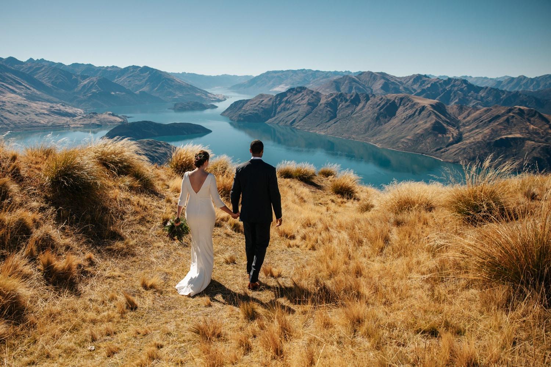 Autumn Wedding at Coromandel peak