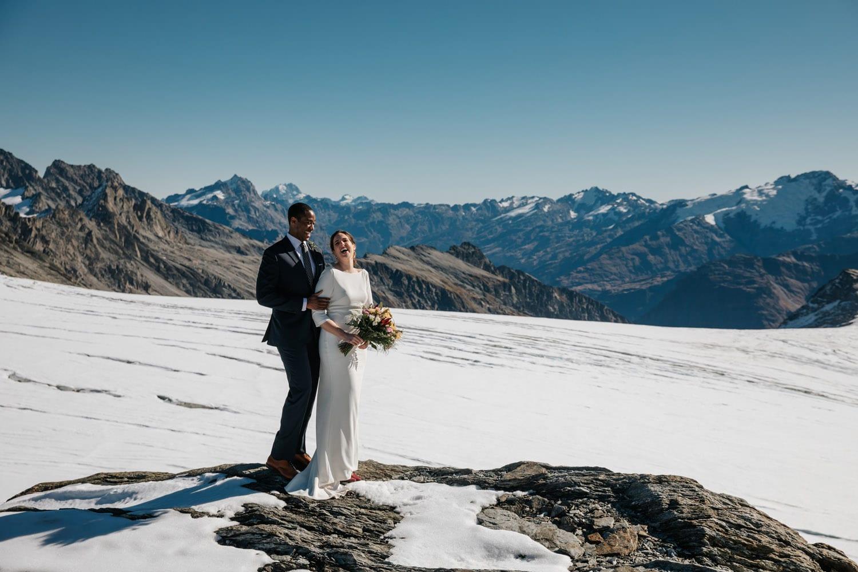 Autumn Wedding at Isobel Glacier