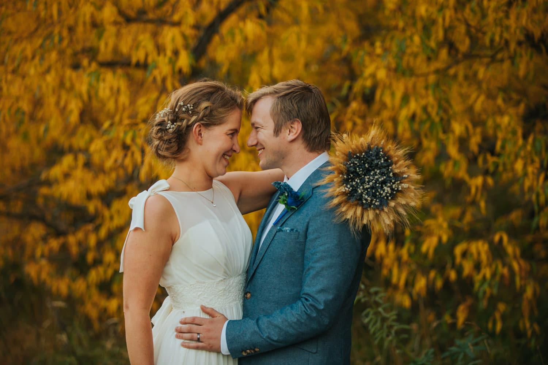 Autumn Wedding at Arrowtown
