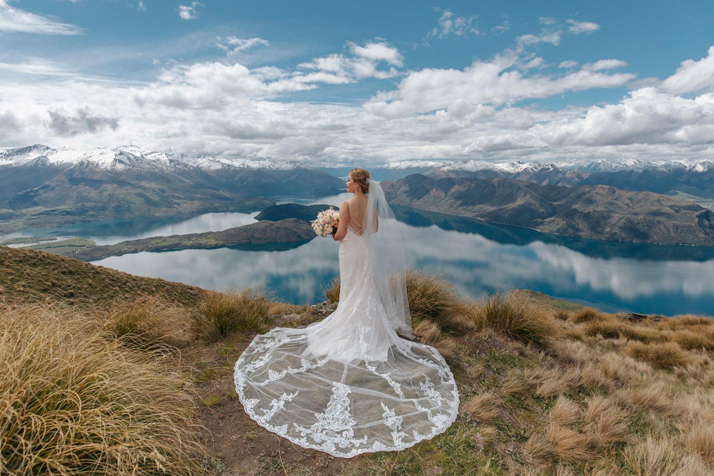Heli Wedding on Coromandel Peak Queenstown