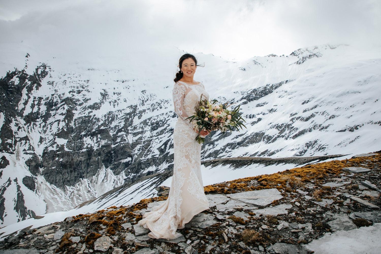 Heli Wedding on The Glaciers Queenstown