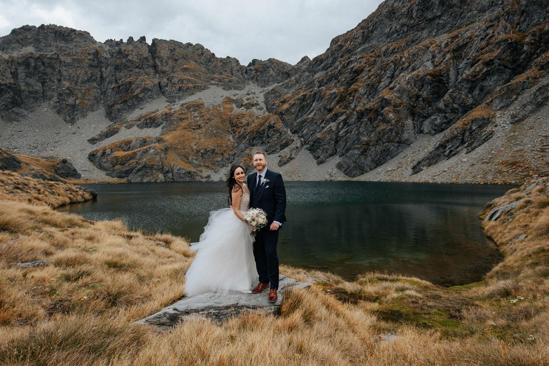 Heli Wedding at Lake IsobelHeli Wedding at Lake Isobel