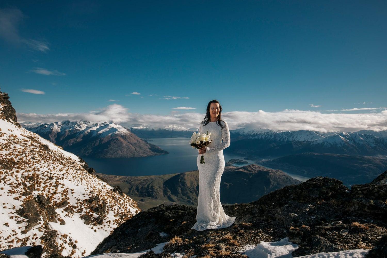 LBGTQ Heli Wedding on The Remarkables