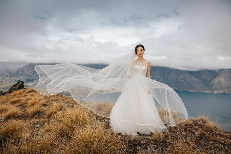 Heli Wedding on The Ridge on Queenstown