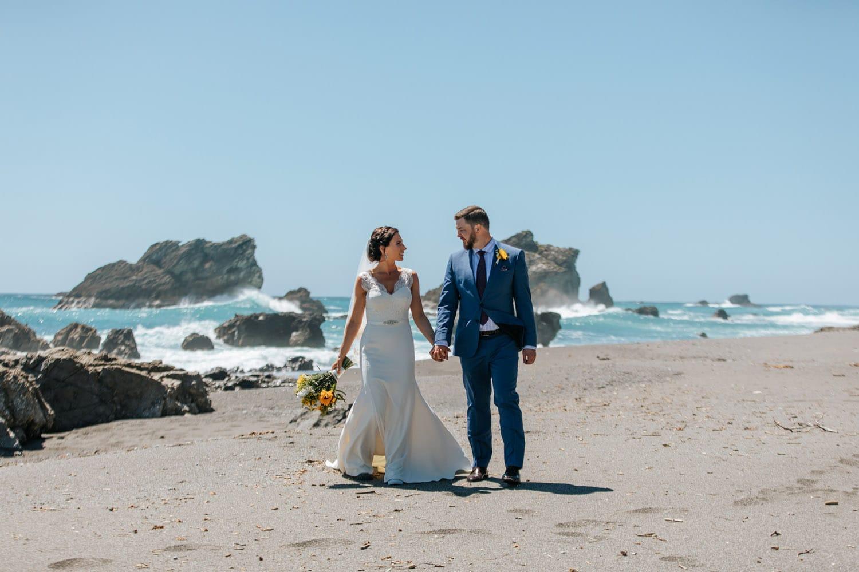 Summer Wedding on the west coast NZ