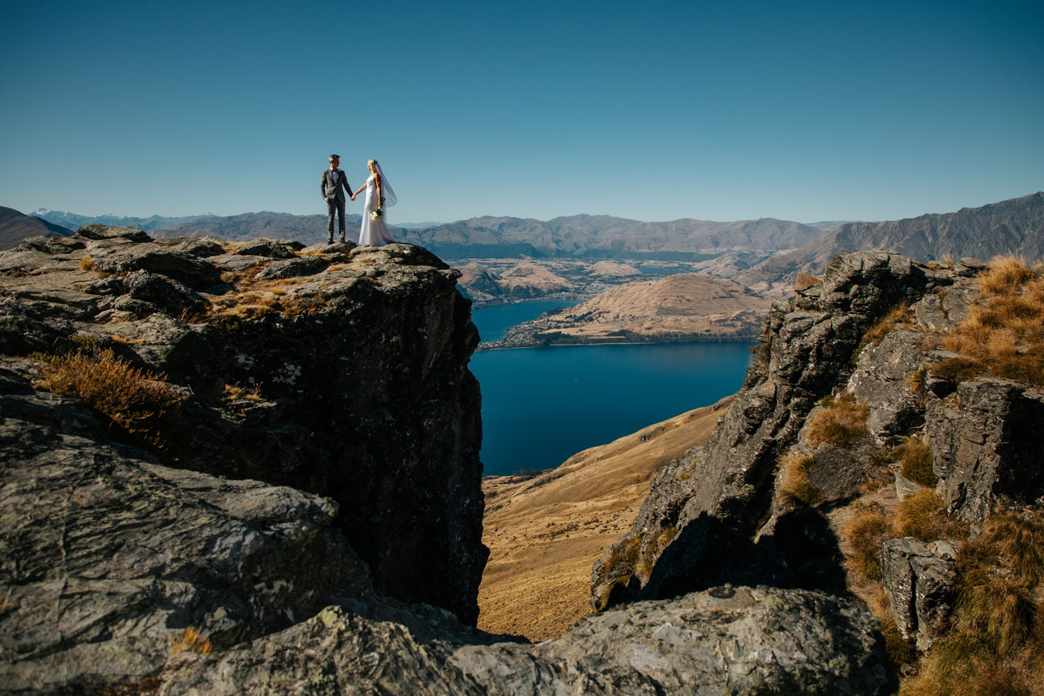 Summer Wedding at The Ledge Queenstown