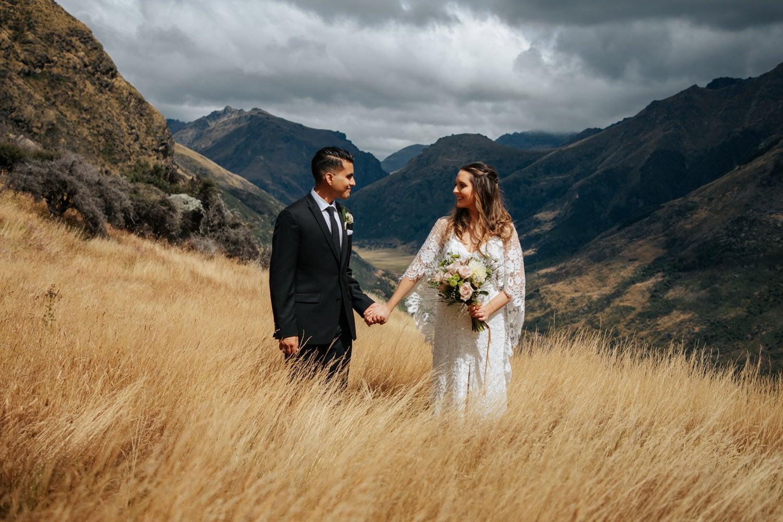 Summer Wedding at Bayonet Peak Queenstown