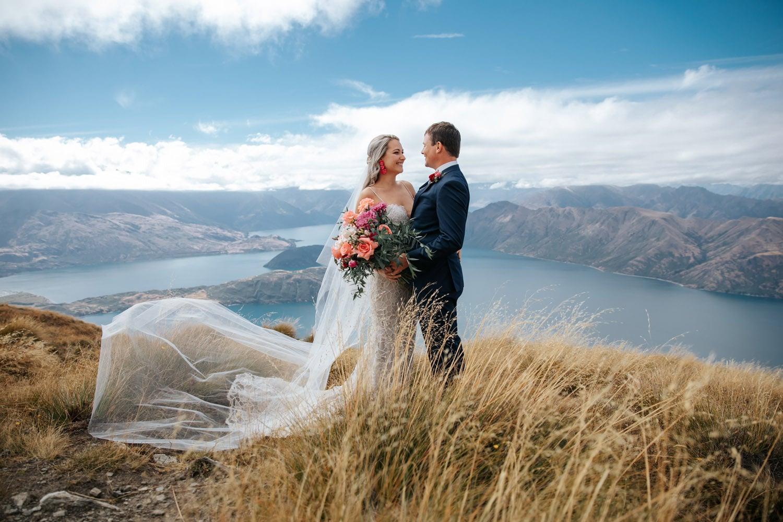 Summer Wedding on Coromandel Peak Queenstown