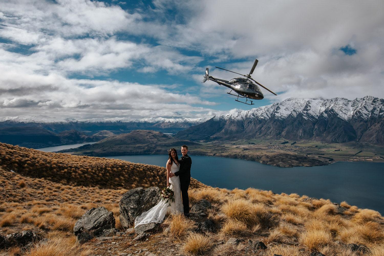 Winter Wedding on Cecil Peak Queenstown