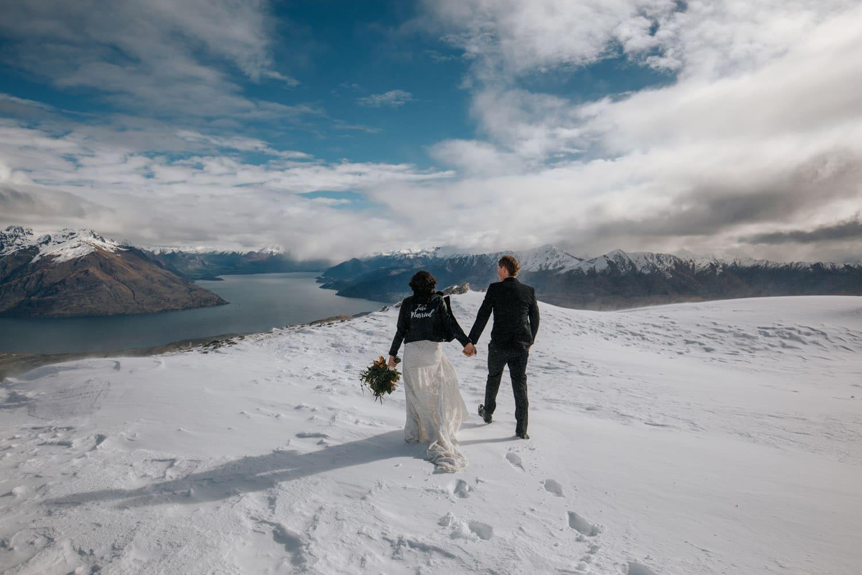 Winter Wedding on The Remarkables Queenstown