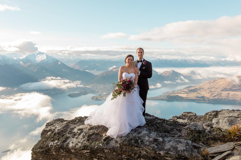 Winter Wedding on The Ridge Queenstown
