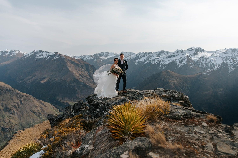 Winter Wedding at Bayonet Peak Queenstown