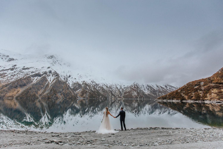 Winter Wedding at Lochnagar Queenstown