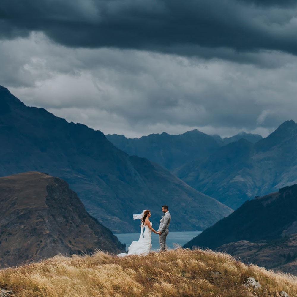 Coronet Peak Wedding Queenstown