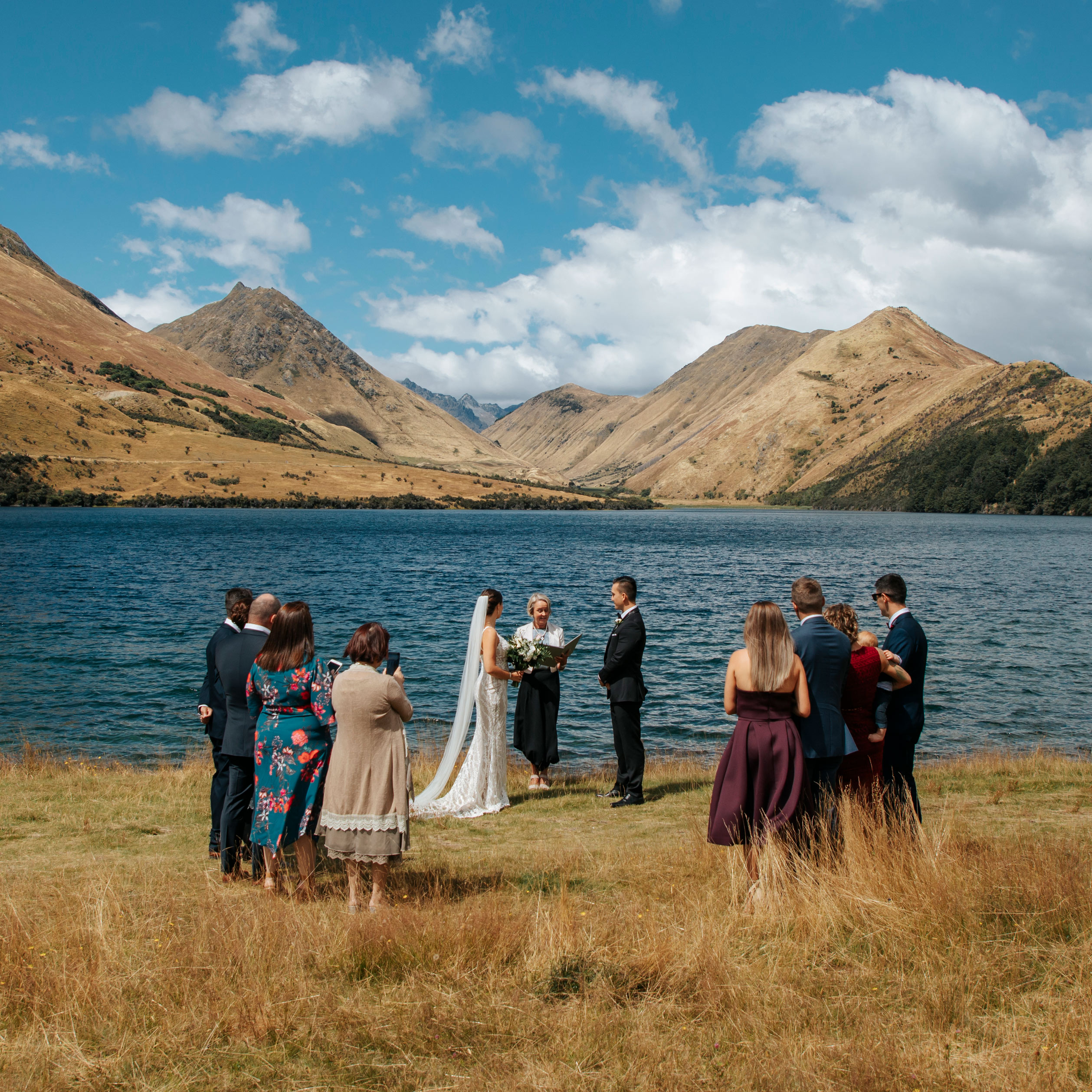 Lakeside Wedding ion Queenstown