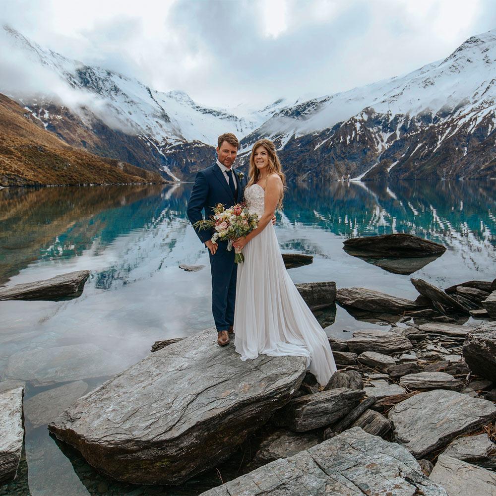 Helio Wedding at Lochnagar Queenstown