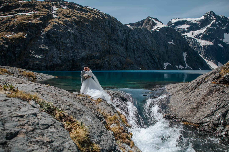 Peak tp Peak Heli Wedding Package in Queenstown