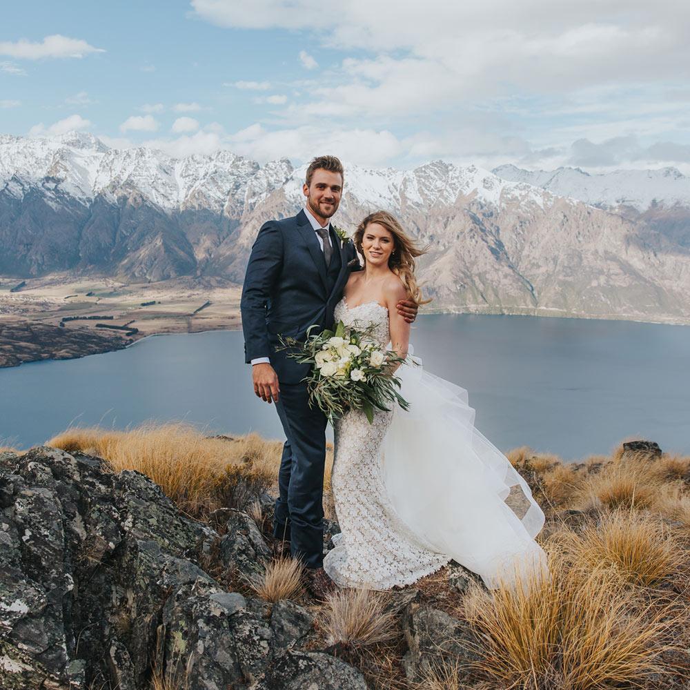 Heli Wedding package on the ridge Queenstown